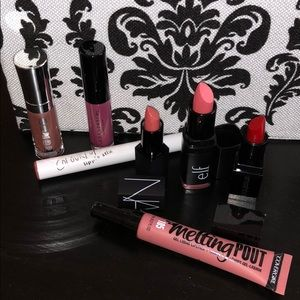 7 piece lip collection: ALL NEW